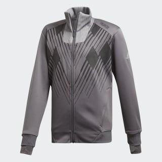 Predator-træningsjakke Grey Five / White DJ1246