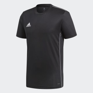 Camisa Core 18 Treino Black / White CE9021