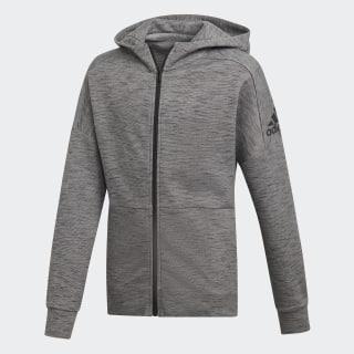 Chaqueta YB ID STA FZ mgh solid grey / black DV1654
