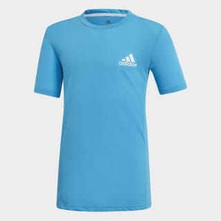 Camiseta Escouade Shock Cyan / White DU2480