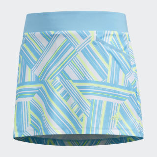 Printed Fashion Skort Bright Cyan DT5843