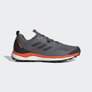 Terrex Agravic XT Trail Running Shoes Grey Four / Core Black / Active Orange G26373