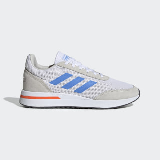 Tênis Run 70s Cloud White / Real Blue / Orange EE9797