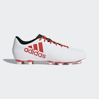 X 17.4 Flexible Ground Boots Cloud White / Real Coral / Core Black CP9196