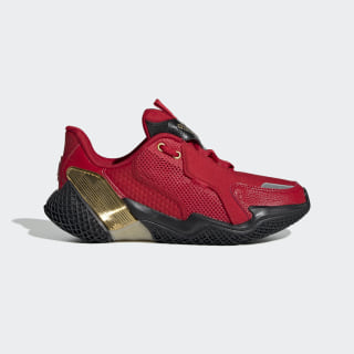 4UTURE RNR Shoes Scarlet / Gold Metallic / Core Black EH1823