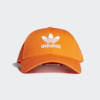 Boné Trefoil Baseball Orange / White EK2997