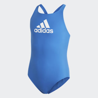Badge of Sport Swimsuit Blue DY6391