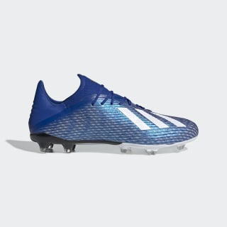Scarpe da calcio X 19.2 Firm Ground Team Royal Blue / Cloud White / Core Black EG7128