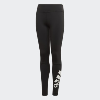 Believe This Branded Tights Black / White ED6307
