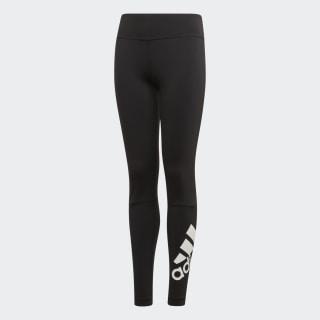 Calça Legging Tr Bt Br L Yg black/white ED6307