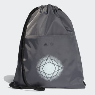 Wanderlust Gym Sack Grey Six / Black / Black Reflective DT4054