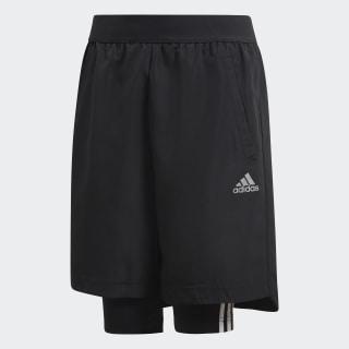 Shorts de Fútbol Dos-en-Uno BLACK/GREY FIVE F17 DJ1256