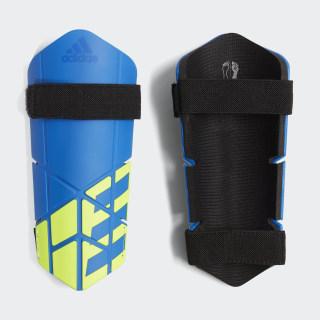 X Lite Shin Guards Football Blue / Black / Solar Yellow CW9718