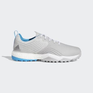 Chaussure Adipower 4orged S Wide Grey Two / Cloud White / Shock Cyan F34194