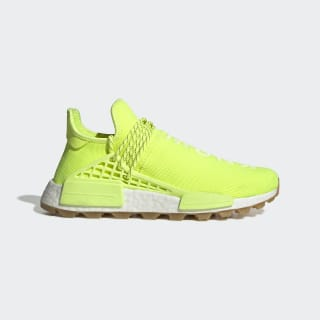 Pharrell Williams Hu NMD Proud Shoes Solar Yellow / Hi-Res Yellow / Gum 3 EF2335