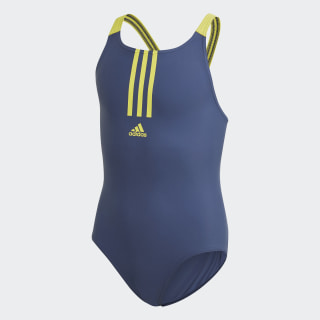 Fitness Swimsuit Tech Indigo / Shock Yellow FL8676