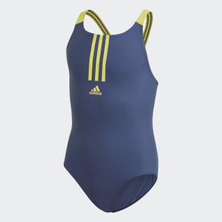 Fitness badedragt Tech Indigo / Shock Yellow FL8676