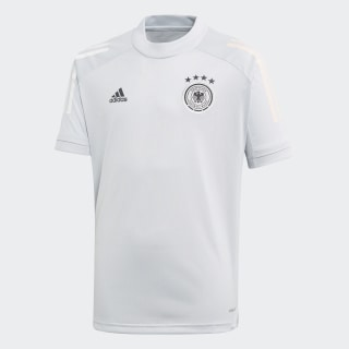Duitsland Training Voetbalshirt Clear Grey FI0752