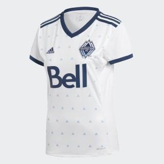 Maillot Vancouver Whitecaps FC Domicile Replica White / Deep Sea / Smoke Blue AY6395