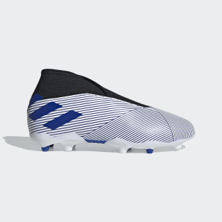 Nemeziz 19.3 Firm Ground Voetbalschoenen Cloud White / Team Royal Blue / Core Black EH0018