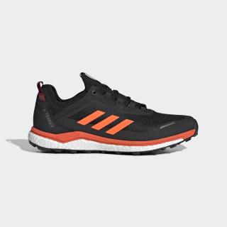Terrex Agravic Flow Shoes Collegiate Burgundy / Solar Orange / Core Black G26103