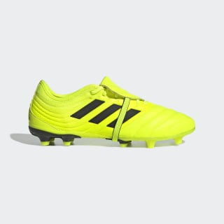 Calzado de fútbol Copa Gloro 19.2 Terreno Firme Solar Yellow / Core Black / Solar Yellow F35491