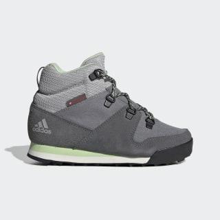 Terrex Climawarm Snowpitch Winter Shoes Grey Three / Grey Four / Glow Green G26576