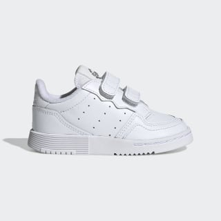 Supercourt Schuh Cloud White / Cloud White / Core Black EG0413