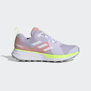 Terrex Two Trail Running Schoenen Purple Tint / Cloud White / Glory Pink EH1844