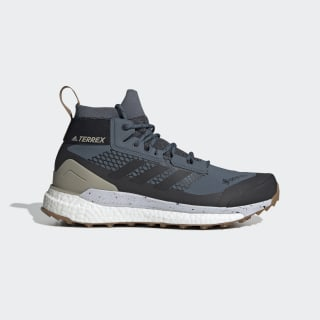 Terrex Free Hiker GTX Hiking Shoes Legacy Blue / Core Black / Raw Desert EF7410