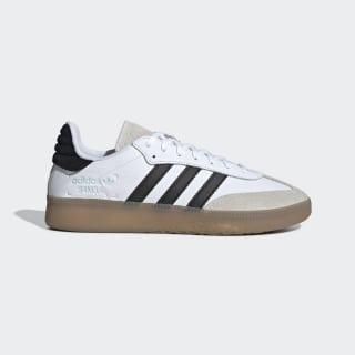 Кроссовки Samba RM ftwr white / core black / clear mint BD7537