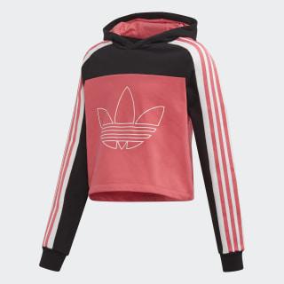 SPRT BB Hoodie Black / Real Pink FK1961
