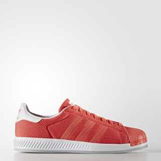 Superstar Bounce Shoes Easy Coral/Footwear White S82239