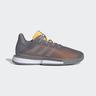 SoleMatch Bounce Shoes Grey Three / Grey Three / Flash Orange EF0572