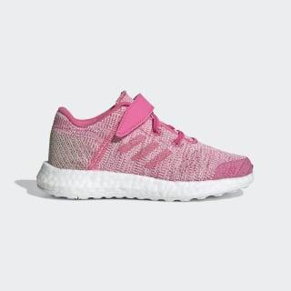 Chaussure Pureboost Go Semi Solar Pink / Semi Solar Pink / Clear Brown F34014