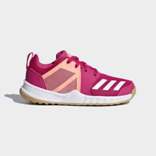 FortaGym Schuh Real Magenta / Cloud White / Clear Orange D97827