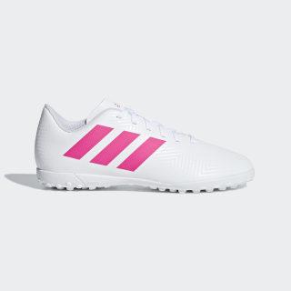 Chimpunes Nemeziz Tango 18.4 Césped Artificial Cloud White / Shock Pink / Shock Pink CM8524