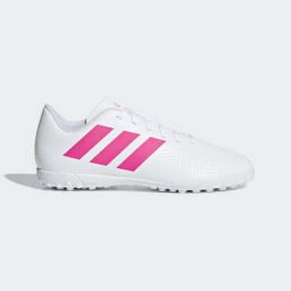 Zapatos de Fútbol Nemeziz Tango 18.4 Césped Artificial ftwr white / shock pink / shock pink CM8524