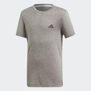 Camiseta YB TR TXTRD TEE Grey /  Grey One  /  Black DV1374