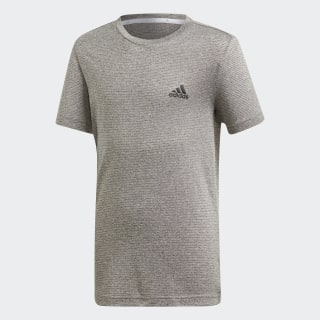 Polo YB TR TXTRD TEE Grey /  Grey One  /  Black DV1374