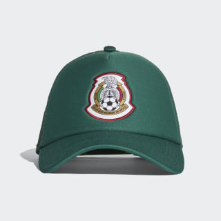 Gorra Mexico Trucker Collegiate Green / Collegiate Green / White CV4558