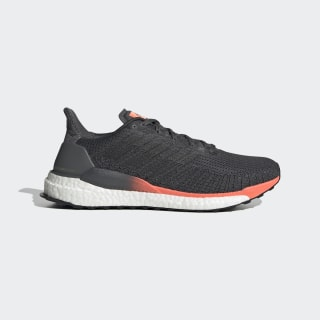 Кроссовки для бега SolarBoost 19 grey six / core black / signal coral EH3503