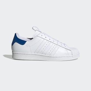 Superstar Schoenen Cloud White / Cloud White / Glory Blue FW2848