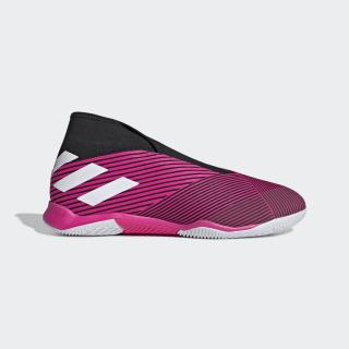 Zapatilla de fútbol sala Nemeziz 19.3 Indoor Shock Pink / Cloud White / Core Black EF0393