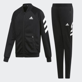 Conjunto de Chaqueta y pantalón Black / White ED4634