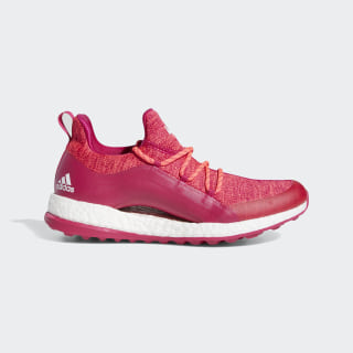 Pureboost Golf Shoes Red Zest / Bold Pink / Cloud White BB8015
