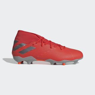 Zapatos de Fútbol Nemeziz 19.3 Terreno Firme Active Red / Silver Metallic / Solar Red F34389