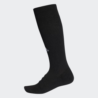 Ponožky Alphaskin Lightweight Cushioning Over-the-Calf Compression Black / Black CV7698