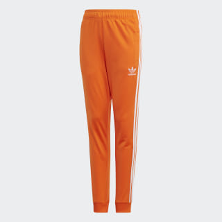 SST Track Pants Orange / White EJ9379