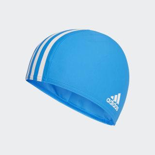 Infinitex Swim Cap Bright Blue / White DH3265